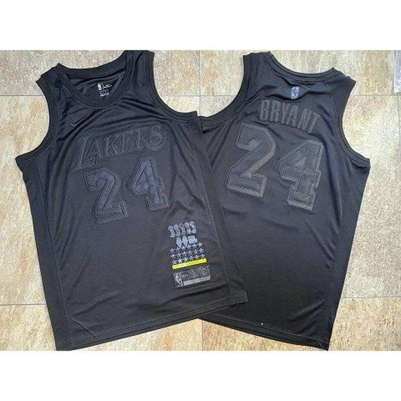 Shirts   La Lakers 2324 Kobe Bryant Black Mvp Jersey   Poshmark